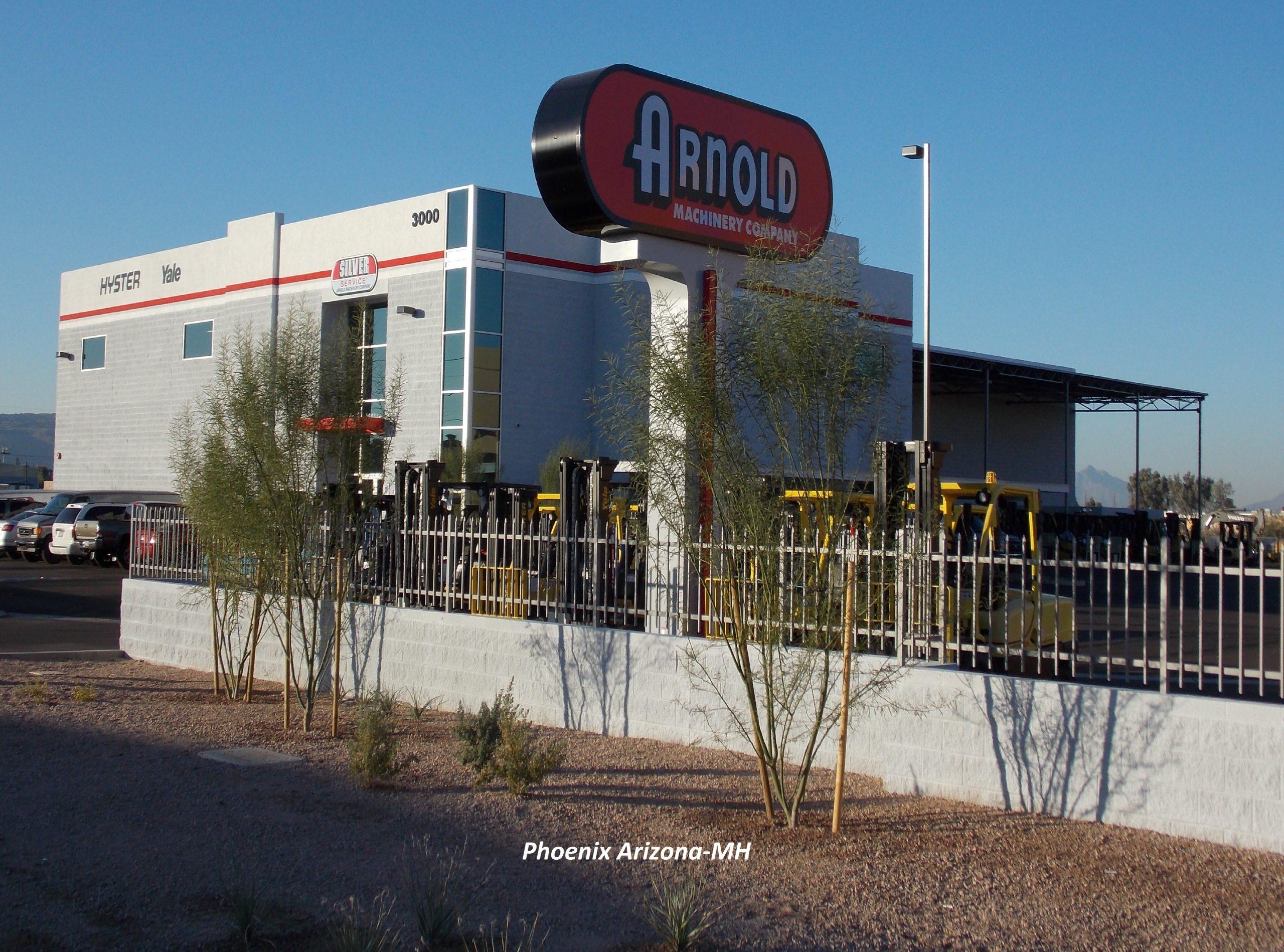 Arnold Machinery Phoenix Arizona