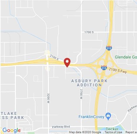 Arnold Machinery Salt Lake City Utah map
