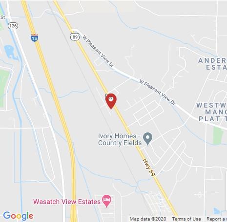 Arnold Machinery location Ogden Utah map